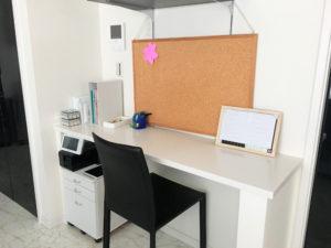 リビングの勉強スペース