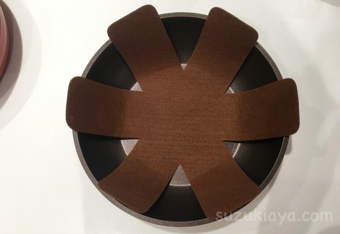 アイリスオーヤマのダイヤモンドコートパンは重ねて収納できる