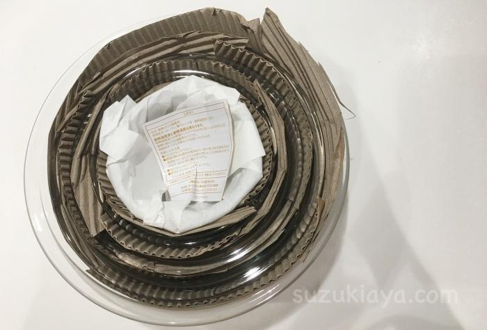 イワキの耐熱ボウルはしっかり梱包されていたのでネットで購入しても安心