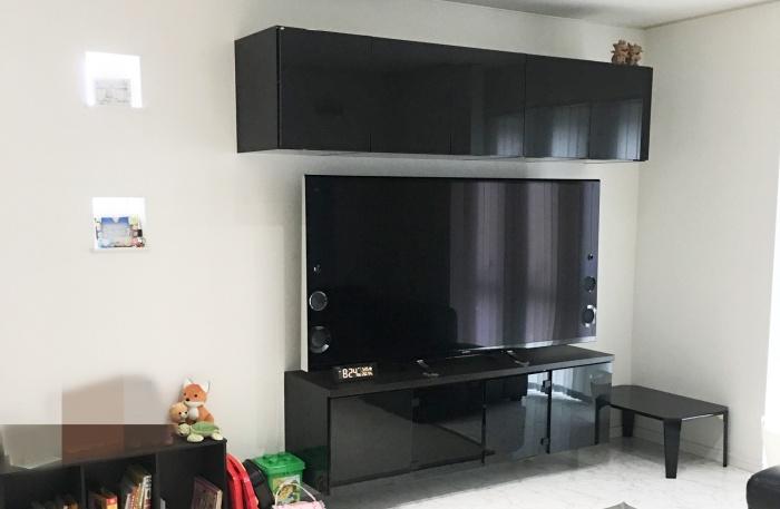 作り付けののテレビ台
