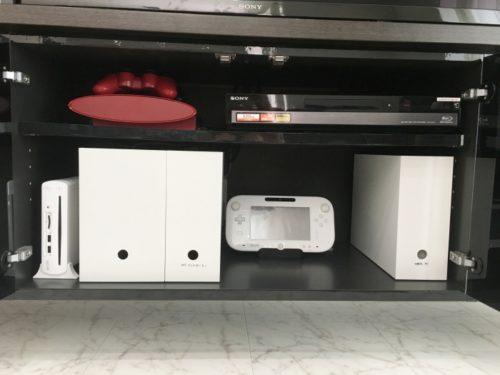 テレビ・DVD・ゲーム機の配線収納*無印のファイルボックスを使う整理方法