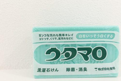 【使用レビュー】子供の上靴洗いはウタマロ石鹸で決まり!使い方と洗い方も