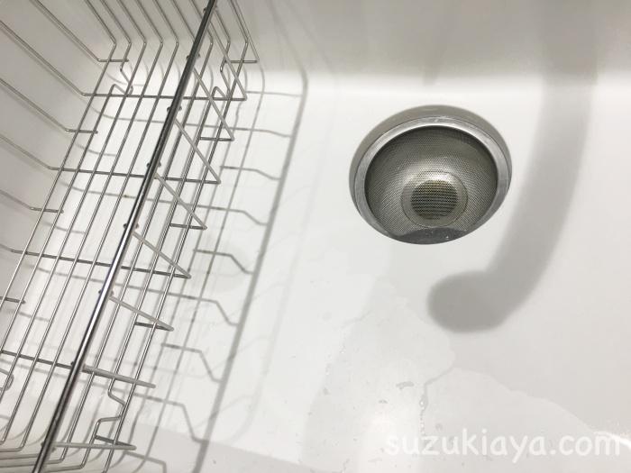 キッチンの排水口の蓋を取り外したら掃除が楽になった