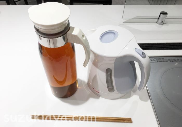 やかんは必要ない!ケトルを使うお茶の沸かし方とおすすめの麦茶保存容器