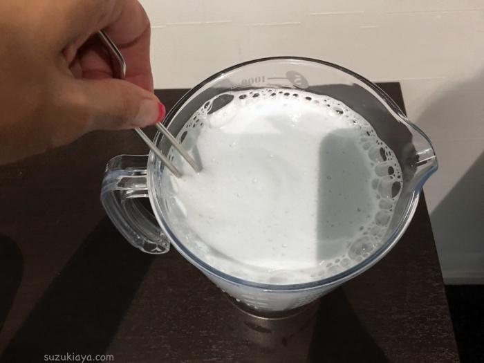 オキシクリーン溶液の作り方