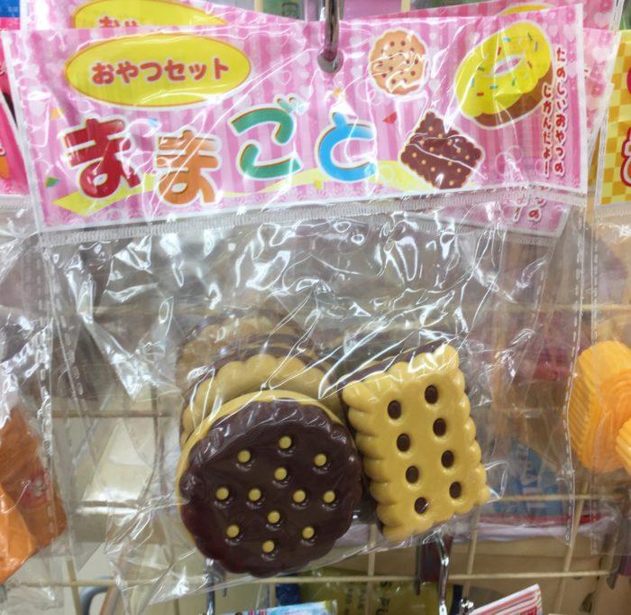 セリアのままごとセットのクッキー