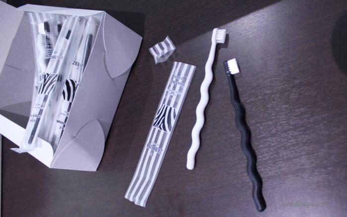 歯科医院専門のモノトーン歯ブラシ