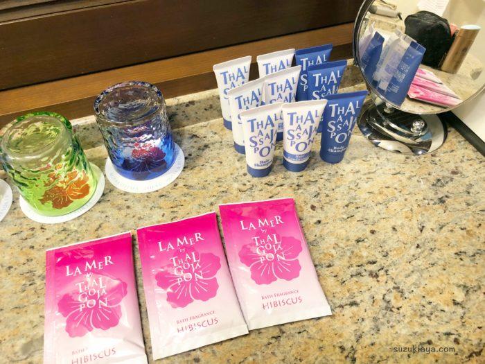 宮古島東急ホテル&リゾーツの入浴剤・シャンプーなどのアメニティ