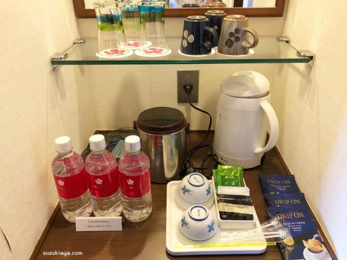 宮古島東急リゾート&ホテルではお水が1人1本サービス
