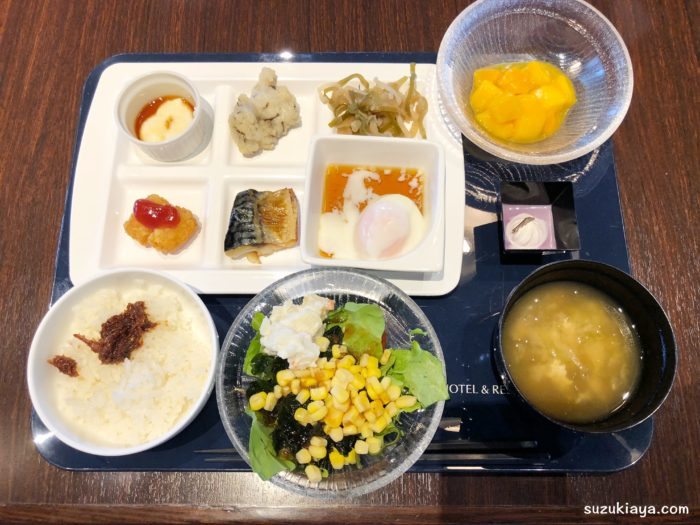 宮古島東急ホテル&リゾーツの朝食ビュッフェ