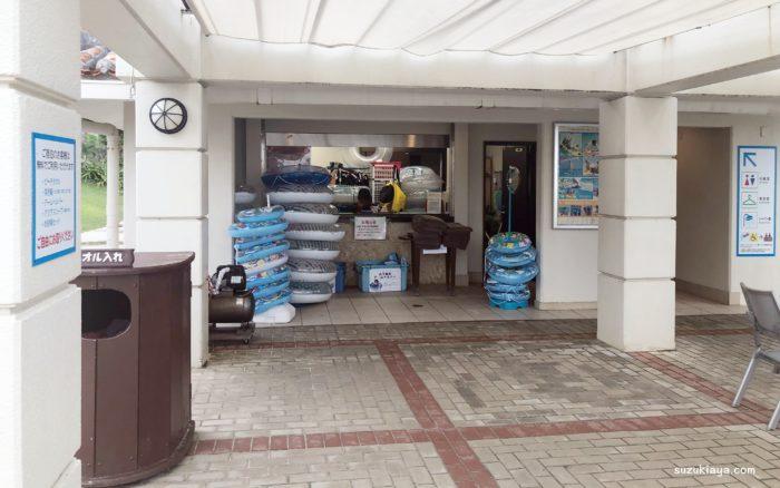 宮古島東急ホテル&リゾーツのビーチハウスは無料レンタルがある