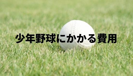 【体験談】少年野球に必要な道具一式の費用&月謝や練習代のお金まとめ