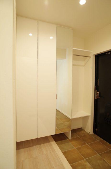 オーダー家具GNASHのオーダー家具(玄関収納)