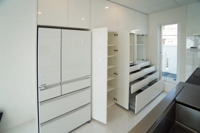オーダー家具GNASHのオーダー家具(キッチン食器棚)