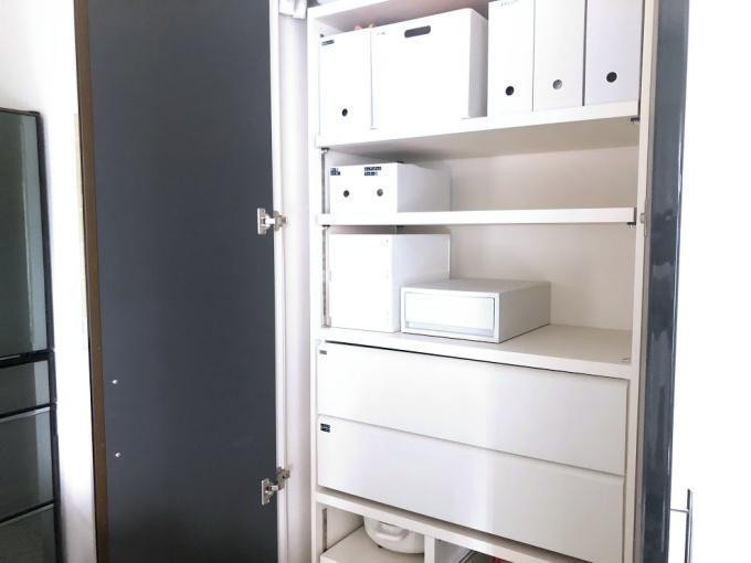 注文住宅の造作パントリー(オーダー家具)