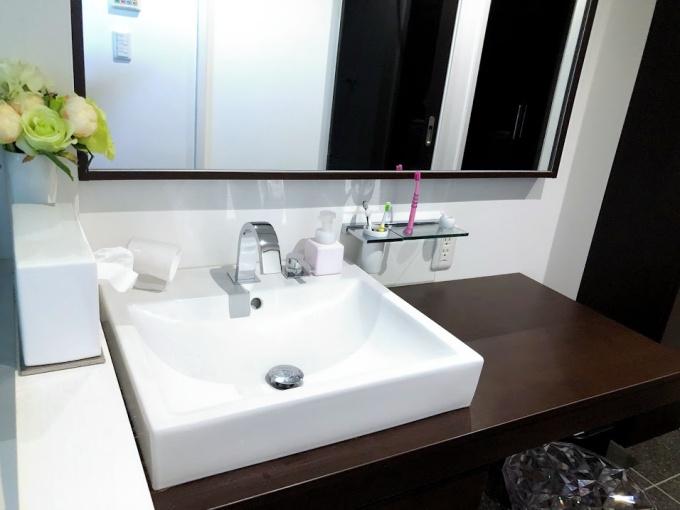 洗面所の歯ブラシ収納