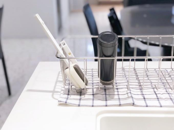 イオン(トップバリュ)のHOME COORDYシリーズの「伸縮式ボトル洗い」