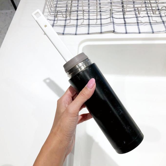 イオン(トップバリュ)のHOME COORDYシリーズの「伸縮式ボトル洗い」はマイボトルを洗うブラシにおすすめ