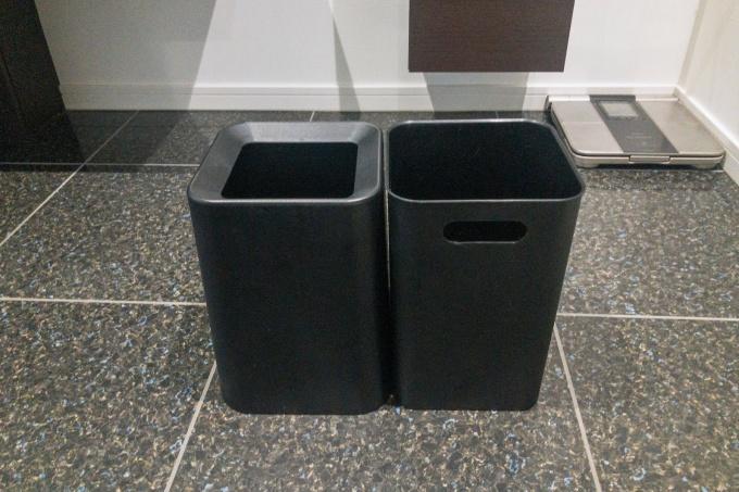 ニトリのゴミ箱は本体とカバーの2つセット