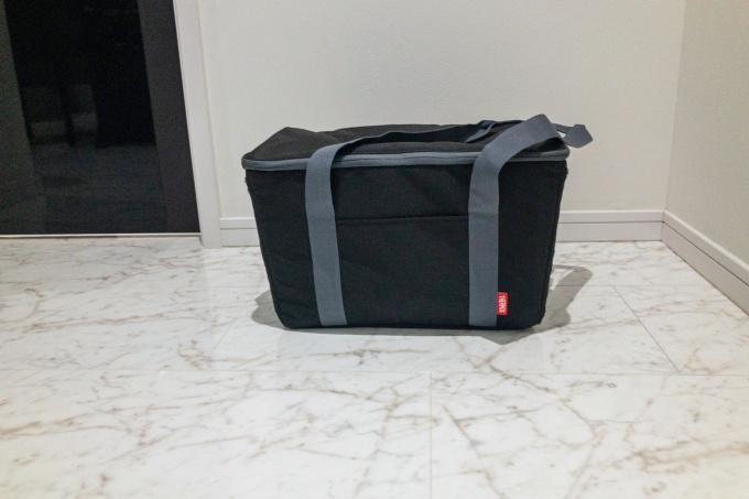 サーモスの保冷買い物カゴ用バッグ(レジカゴバッグ)