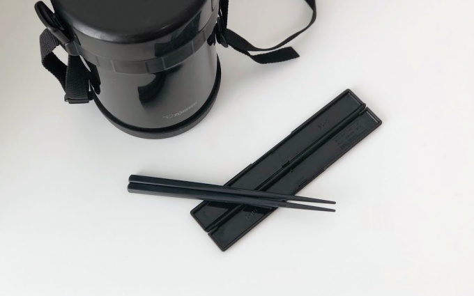 象印「ステンレスランチジャーお・べ・ん・と(SL-GH18)」の箸