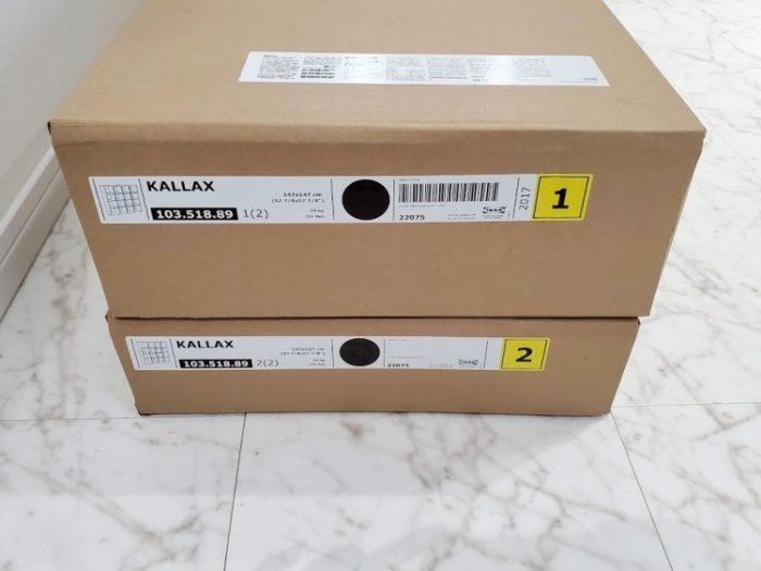 IKEAカラックスの外箱(ダンボール)