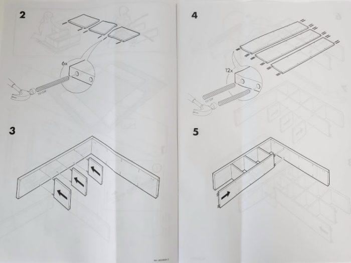 IKEAカラックスの説明書