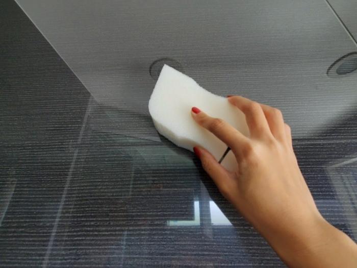 ニトリ「泡立ち・水切れ」のよいバススポンジ(浴室スポンジ)でお風呂掃除
