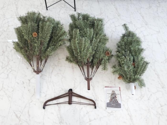 アルザスのクリスマスツリーの内容