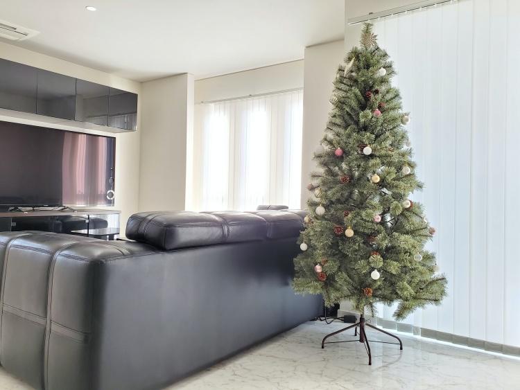 【レビュー】アルザスのクリスマスツリーがおしゃれで可愛い!180cmを購入しました