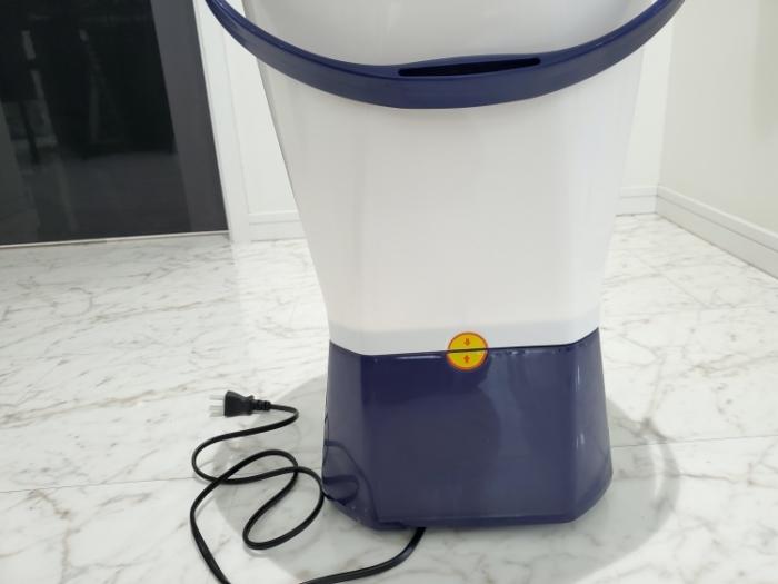 シービージャパン バケツ型小型洗濯機の背面