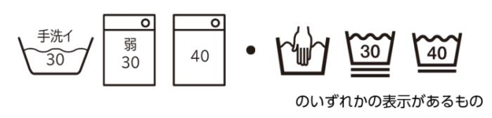 パナソニック洗濯機縦型(NA-FA120V3-W)の毛布コースで洗える洗濯表示