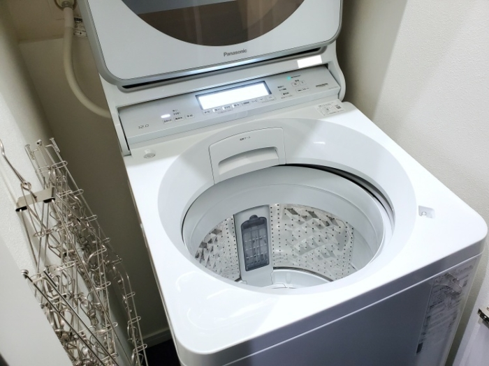 パナソニック洗濯機縦型(NA-FA120V3-W)をブログで口コミレビュー