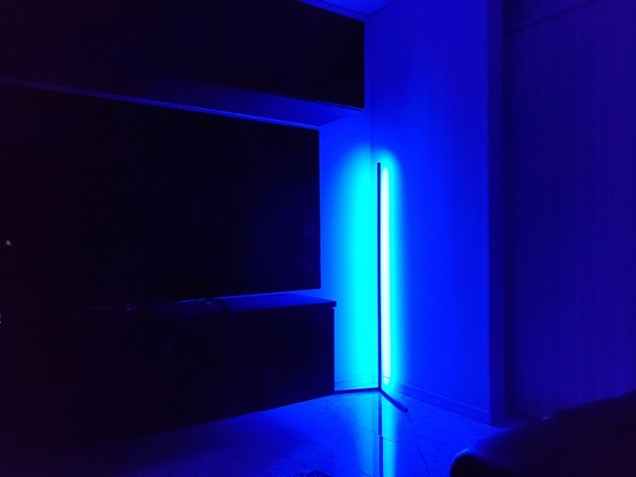 「Illuminar」の調光機能「明るめ」