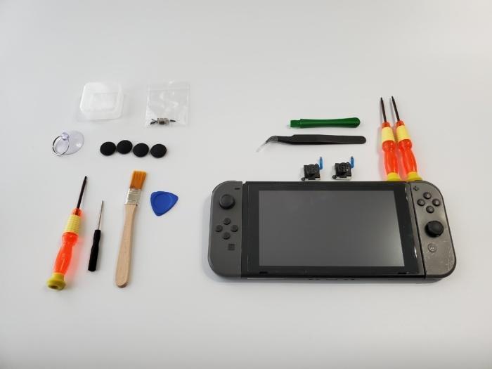 任天堂Switchのジョイコンを自分で修理する。使ったパーツはこれ