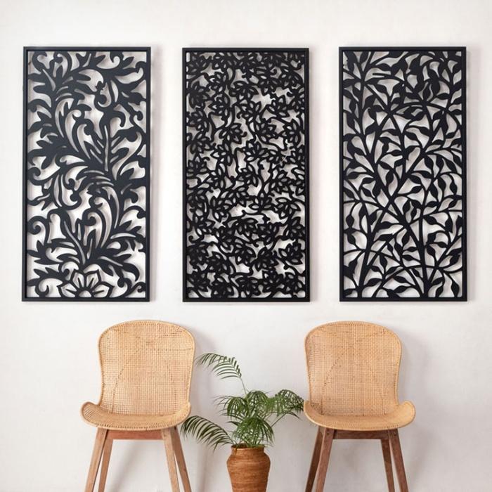 アジア工房のアートパネル3種類