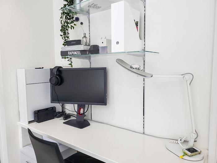 リビングのスタディスペースにゲームスペースを作成