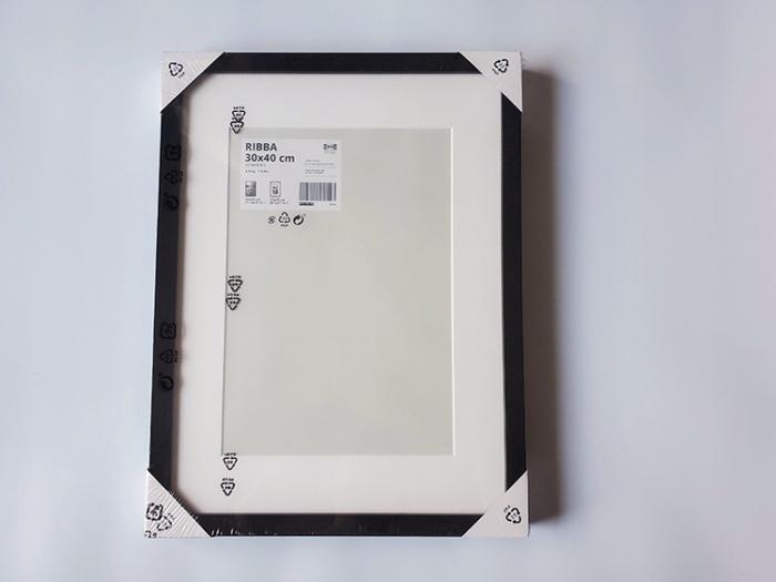 IKEAのフォト(ポスター)フレーム「RIBBA(リッバ)」